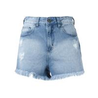 Pop Up Store Short Jeans - Azul