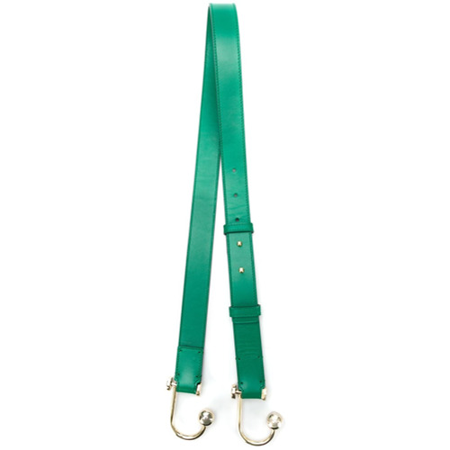 Elie Saab Alça para bolsa de couro - Green