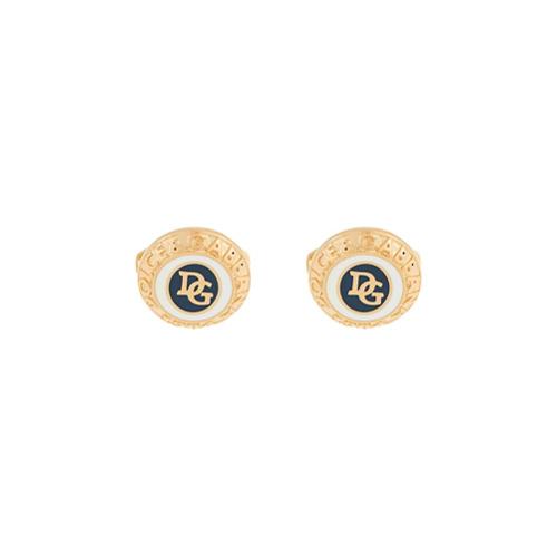 Imagem de Dolce & Gabbana Abotoaduras com logo - Dourado