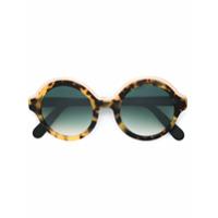 Cutler & Gross Óculos De Sol Em Acetato - Brown