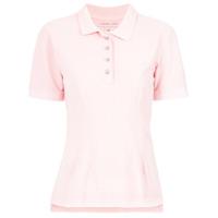 À La Garçonne Camisa Polo Justa - Pink & Purple