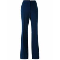 Diane Von Furstenberg Calça Flare - Azul