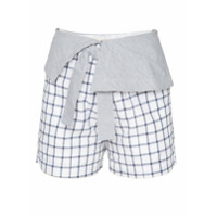 Framed Short Mix - Preto