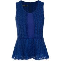 Fillity Blusa De Renda - Azul