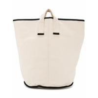 Cabas Bolsa Tote Grande 'laundry' - Branco