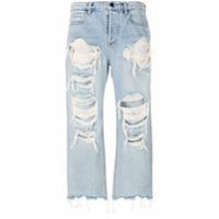 Alexander Wang Calça Jeans Com Efeito Destroyed 'rival W' - Azul