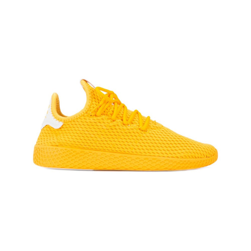 Imagem de Adidas By Pharrell Williams Tênis 'Adidas Originals x Pharrell Williams Tennis Hu' - Amarelo E Laranja