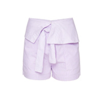 Framed Short Mix - Pink & Purple