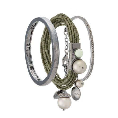 Imagem de Camila Klein Kit 3 pulseiras com miçangas - Metallic