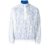 Adidas Originals By Alexander Wang Jaqueta Estampada - Branco