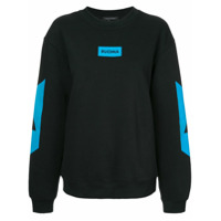 Cityshop Moletom Color Block - Preto