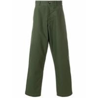 Comme Des Garçons Shirt Calça Xadrez - Green