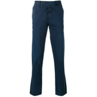 7 For All Mankind Calça Chino Reta - Azul