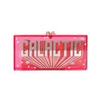 Charlotte Olympia Clutch Modelo 'galactic Penelope' - Pink & Purple