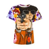 Christopher Kane Camiseta Com Estampa - Estampado