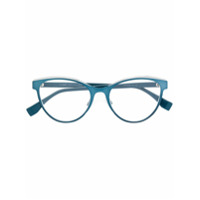 Fendi Eyewear Óculos De Grau Gatinho - Azul