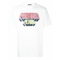 3.paradis Camiseta Com Estampa - Branco
