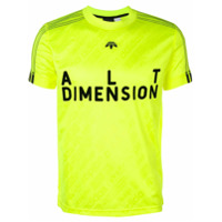 Adidas Originals By Alexander Wang Camiseta Com Estampa - Amarelo E Laranja