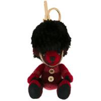 Burberry Chaveiro De Urso De Cashmere 'thomas' - Vermelho
