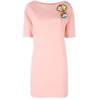 Boutique Moschino Vestido Com Aplicação - Pink & Purple