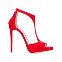 Jimmy Choo Sandália Modelo 'lana 120' - Vermelho