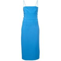 Dion Lee Vestido Slim - Azul