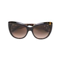 Bulgari Óculos De Sol Gatinho - Marrom
