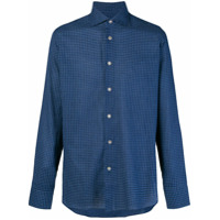 Borriello Camisa Xadrez - Azul