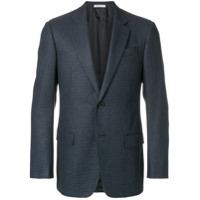 Armani Collezioni Blazer De Tweed - Azul