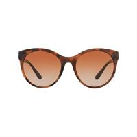 Burberry Óculos De Sol Redondo - Brown