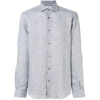 Boglioli Camisa De Linho - Cinza