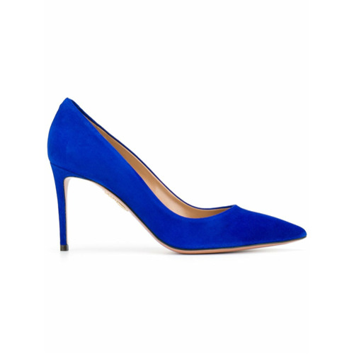 Imagem de Aquazzura Scarpin 'Simply Irresistible' de couro - Azul