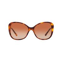 Burberry Óculos De Sol Oversized - Brown