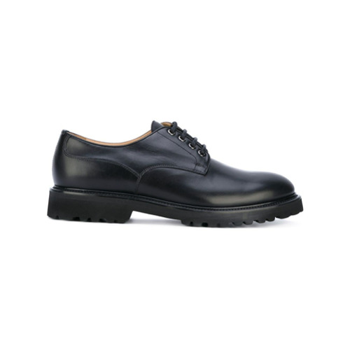 Imagem de Aiezen Sapato de couro com cadarço - Preto