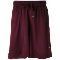 Adidas Originals By Alexander Wang Shorts - Pink & Purple