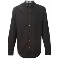 Burberry Camisa Mangas Longas - Preto