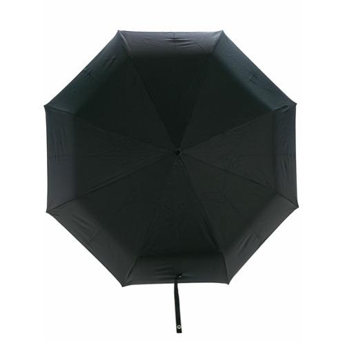 Imagem de Alexander McQueen Guarda-chuva com detalhe de caveira - Preto