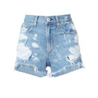 Rag & Bone /jean Short Jeans 'justine' - Azul