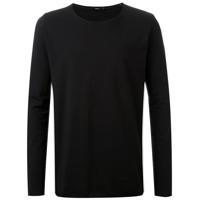 Bassike Camiseta Mangas Longas - Preto
