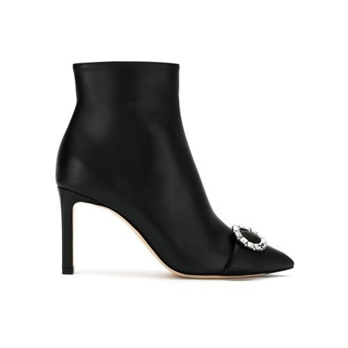 Imagem de Jimmy Choo Ankle boot 'Hanover' de couro - Preto