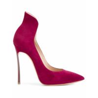 Casadei Scarpin Com Calcanhar Alto - Pink & Purple