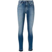 Ck Jeans Calça Jeans Com Acabamento Desfiado - Azul