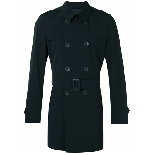 Herno Trench coat clássico - Azul