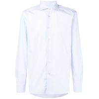 Borriello Camisa Com Botões - Azul