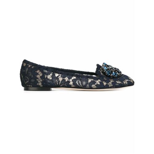 Imagem de Dolce & Gabbana Slippers modelo 'Vally' - Azul
