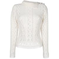 Ermanno Scervino Blusa Translúcida - Branco
