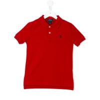 Ralph Lauren Kids Camisa Polo - Vermelho