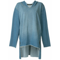 Pony Stone Blusa Jeans - Azul