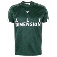 Adidas Originals By Alexander Wang Camiseta Estampada - Green