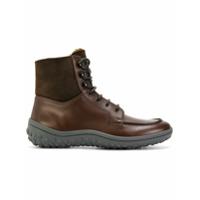Car Shoe Bota De Couro - Brown